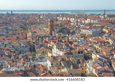 View of old Venice, Italy - stock photo