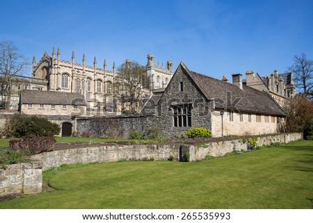 View of Oxford, England. - stock photo
