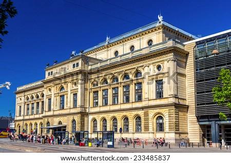 View of Royal Danish Theatre in Copenhagen - stock photo