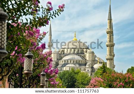 View of Saint Sofia, Istanbul, Turkey - stock photo