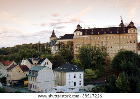View of the Castle of Altenburg - stock photo