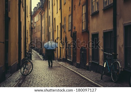 View of the old city. Stockholm, Sweden - stock photo