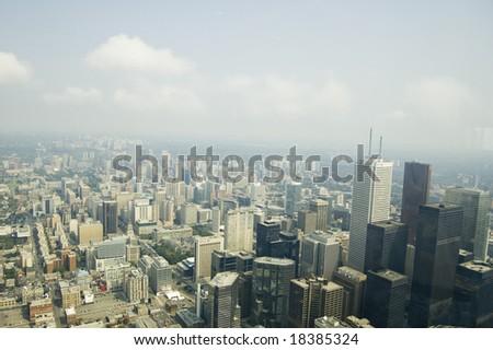 View of Toronto - stock photo
