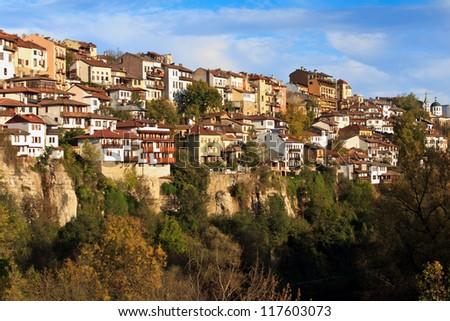 View of Veliko Tarnovo - stock photo