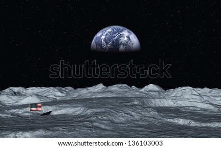 View On Earth - stock photo