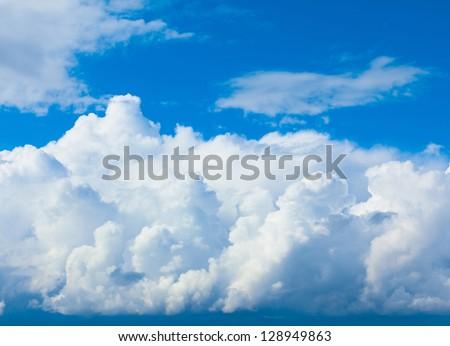 View Sunshine Skies - stock photo
