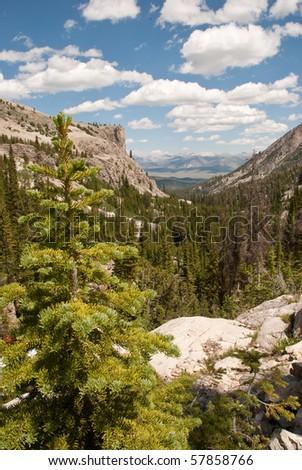 Viewpoint near Alice Lake - stock photo