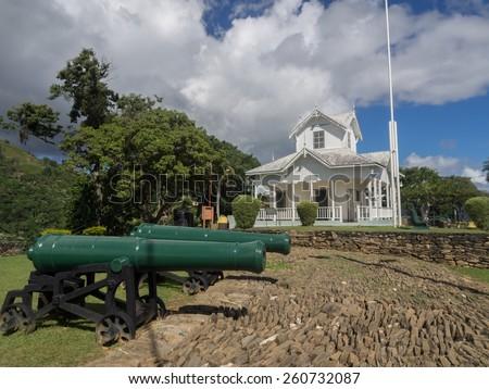 Views around the Caribbean Island of Trinidad - stock photo