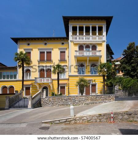 villa in Opatija - stock photo