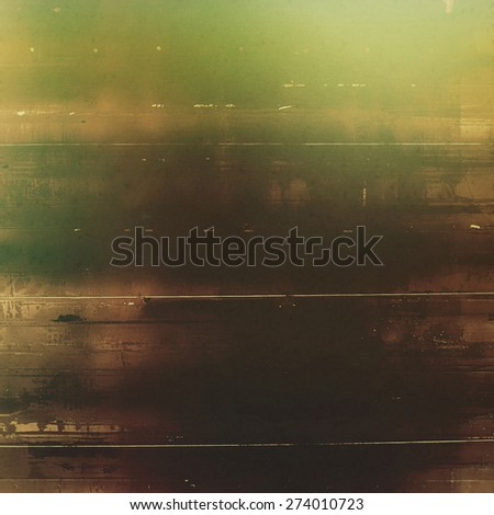 Vintage aged texture, colorful grunge background with space for text or image. With different color patterns: brown; gray; black; green - stock photo