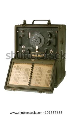 Vintage Army Equipment - stock photo