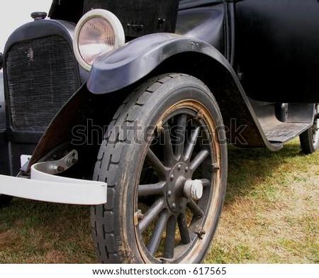 Vintage Auto. - stock photo