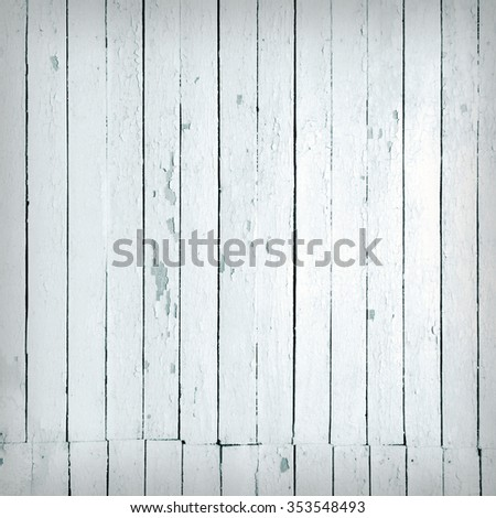 Vintage background from a black and white wooden plank - stock photo