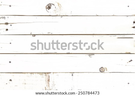 Vintage background from a wooden shabby plank. - stock photo