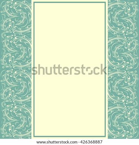 Vintage background, greeting card, invitation - stock photo