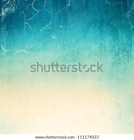 Vintage background in the blue shade. paper texture - stock photo