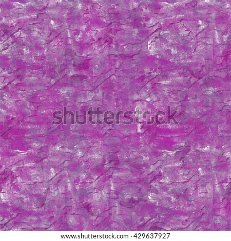 Vintage background. Old paint smudge. Cracked plaster. Purple color. The texture of tempera. Smeared paint, plaster. Grunge background. Grunge wall - stock photo