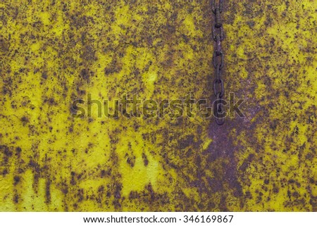 Vintage background , scratched metal texture rusted - stock photo