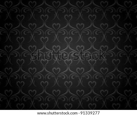 Vintage background with classy patterns for design - stock photo