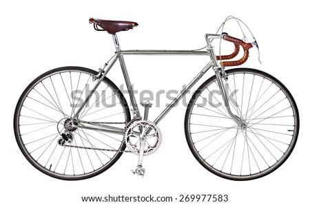 vintage bikes Bronz - stock photo
