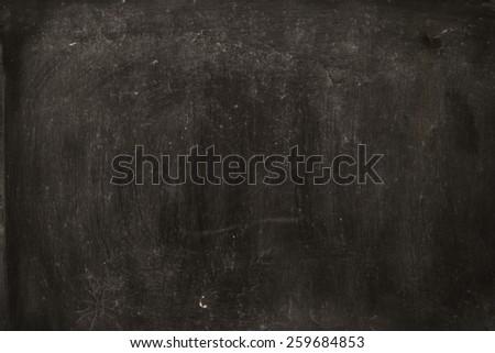 vintage blackboard - stock photo