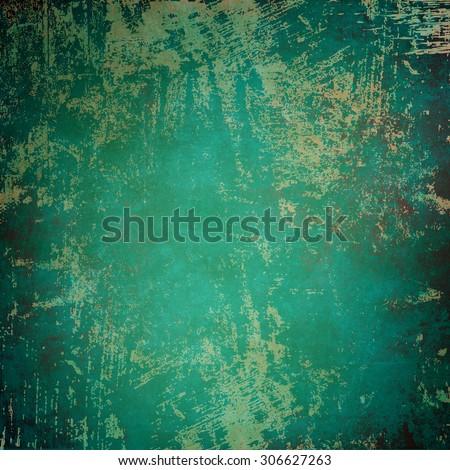 Vintage blue background - stock photo