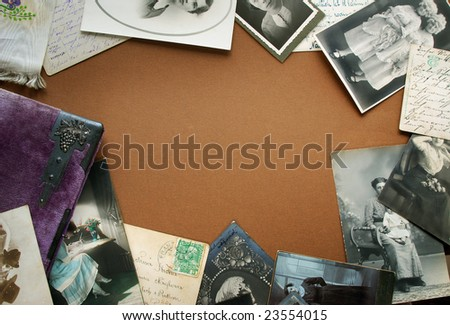 Vintage bordering - stock photo