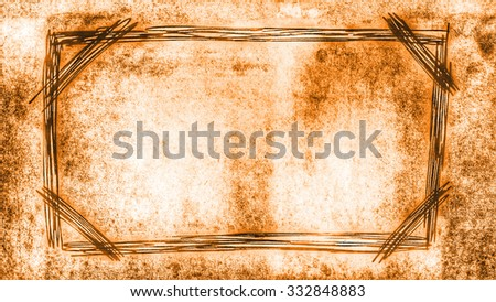 vintage brown background - stock photo