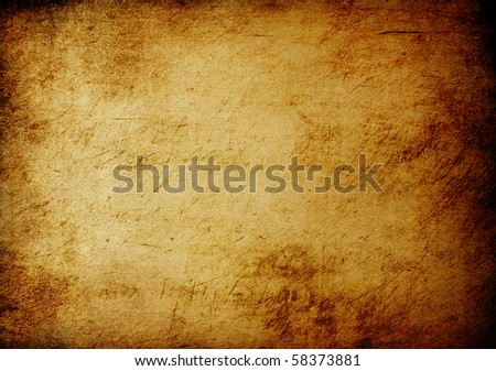 Vintage brown background with space for text. - stock photo