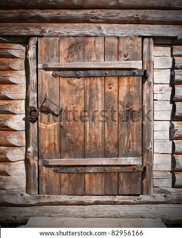 Barn doors stock photos images pictures shutterstock - Vieille porte en bois ...