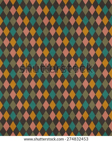Vintage colorful texture for print or backdrop for illustration - stock photo