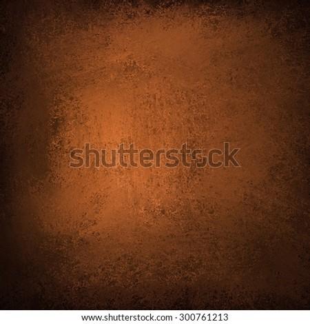 vintage copper background illustration, old orange paper - stock photo