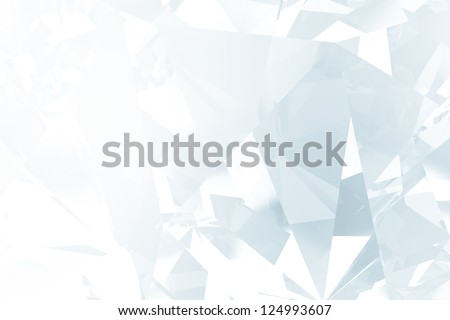 vintage crystal facet background - stock photo