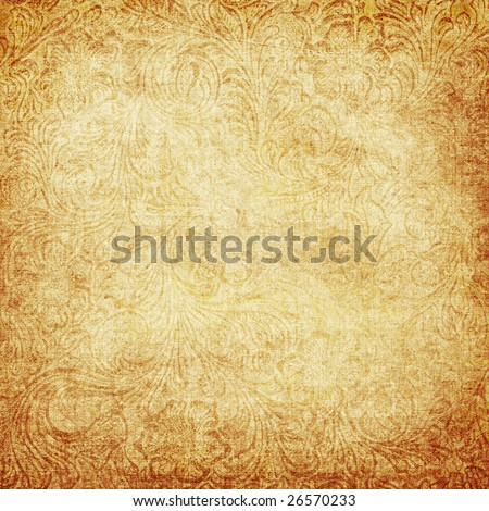 vintage decorative background - stock photo