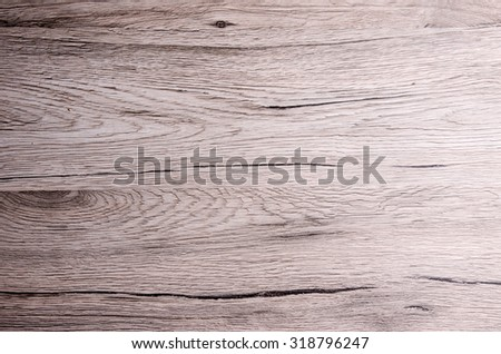 Vintage designed wood surface of a table. - stock photo