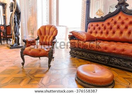 Vintage furniture - stock photo