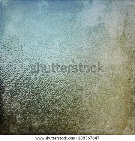 Vintage glass texture background - stock photo