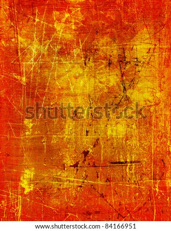 vintage gold background - stock photo
