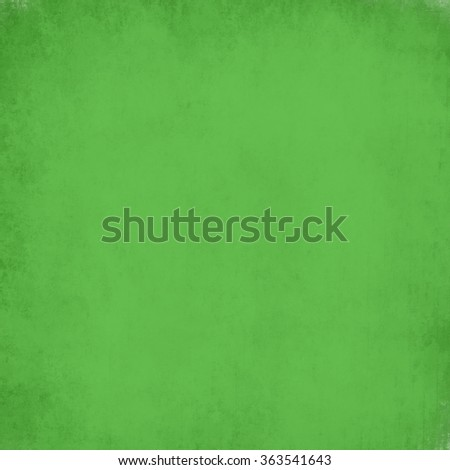 vintage green background, soft elegant grunge texture background abstract sponge design on wall illustration on paper or stationary, solid plain background for Christmas brochure or backdrop - stock photo