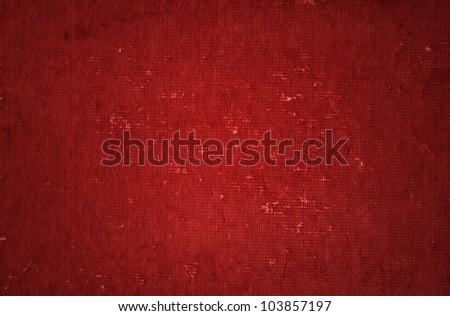 vintage grunge red background - stock photo