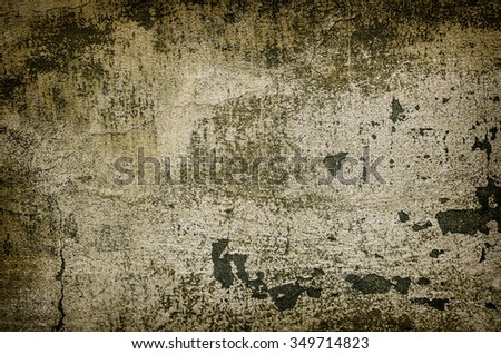 Vintage grunge texture of old weathered dirty wall - stock photo