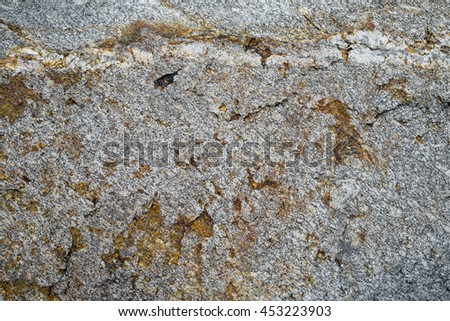 Vintage/grungy on cement or stone, old texture is pattern background. It is a stone wall  grunge material, rust on stone construction - stock photo