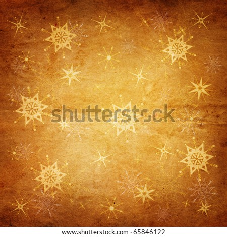 vintage holiday background - stock photo