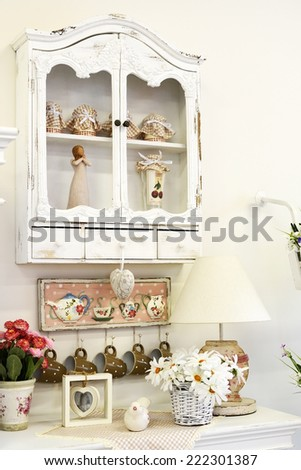 Vintage kitchen - stock photo