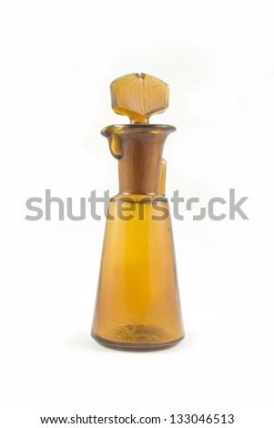Vintage Laboratory Flask - stock photo