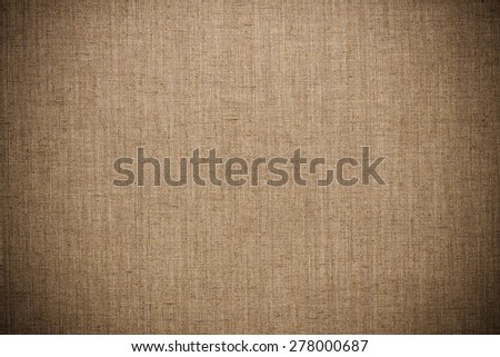 vintage linen texture for the canvas background - stock photo