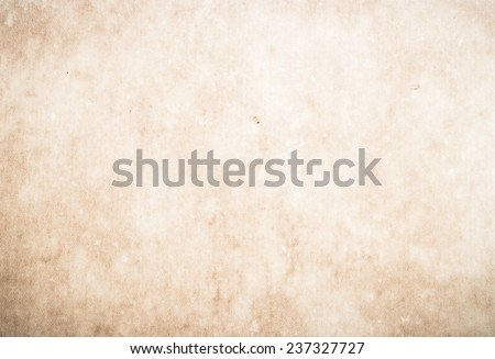 Vintage old paper texture background with space for text or image.  - stock photo