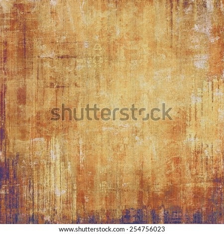 Vintage old texture with space for text or image, distressed grunge background. With different color patterns: yellow (beige); brown; gray; purple (violet) - stock photo