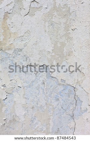 Vintage or grungy white background of natural cement or stone old texture as a retro pattern layout.  It is a concept, conceptual or metaphor wall banner, grunge, material, aged, rust or construction. - stock photo