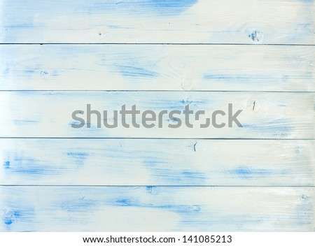 Vintage painted wooden background - stock photo